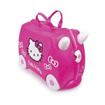Trunki - Cestovný kufrík TRUNKI - Hello Kitty